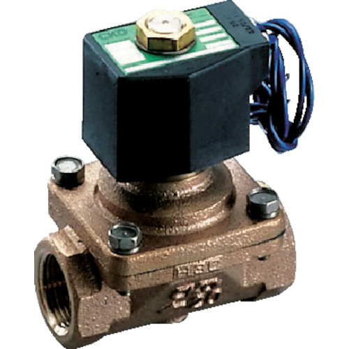 CKD パイロットキック式2ポート電磁弁(マルチレックスバルブ)(APK1125AC4AAC200V)