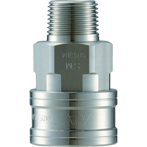 ナック クイックカップリング TL型 ステンレス製 メネジ取付用(CTL16SM3)