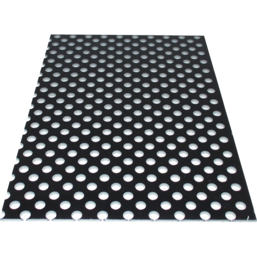 アルインコ アルミ複合板パンチ 3X1820X910 ブラック(CG91P11)*代引不可 個人宅配送不可*