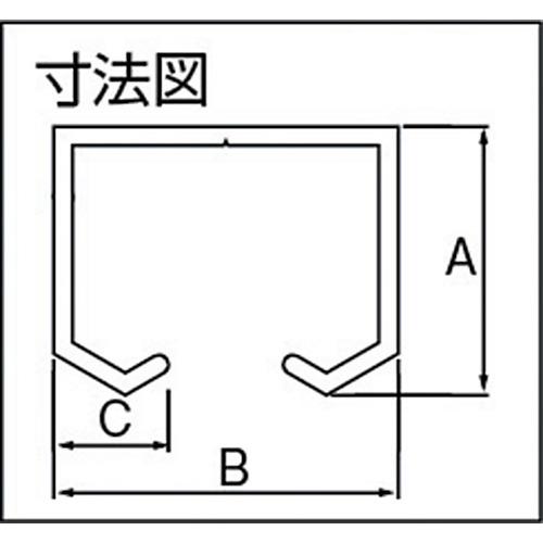シルバー アルミ製ドアハンガーSD10Aレール ダイケン 3640 (10AR36S)