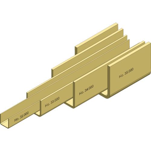 HELM ニコ 26/27号ガイドレール 3640mm(267HEG3640)