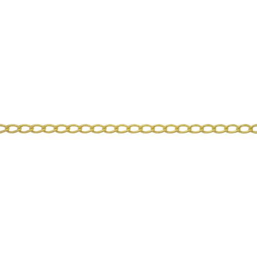 ニッサチェイン 真鍮キリンスマンテルチェイン 2mm×30m(BM20)
