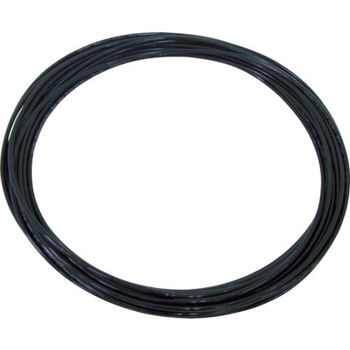 チヨダ TPタッチチューブ 10mmX100m 黒(TP10X6.5100)
