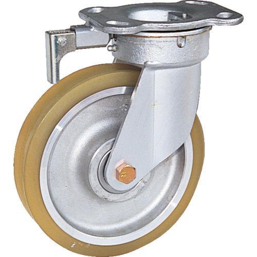 スエヒロ リボキャスター ウレタン車輪 Φ200(TSHK8ATR)