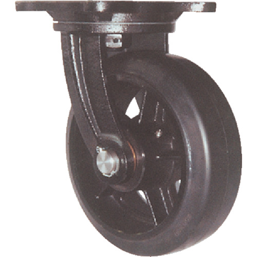 ヨドノ 鋳物重量用キャスター(MHAMG200X75)