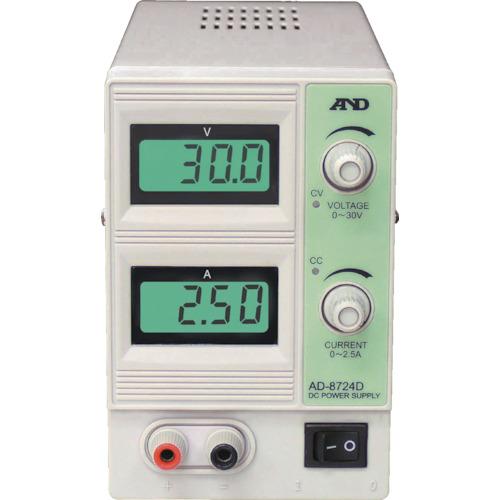 A&D 直流安定化電源 30V 2.5A(AD8724D)