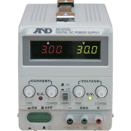 A&D 直流安定化電源トラッキング動作可能LEDデジタル表示(AD8735D)