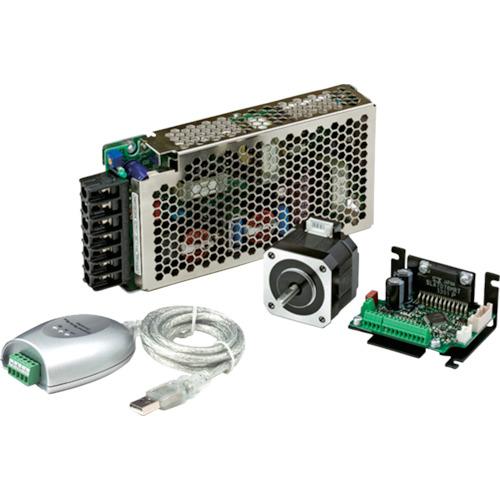 シナノケンシ コントローラ内蔵マイクロステップドライバ&ステッピングモータ(CSAUP42D1SFPSU4)