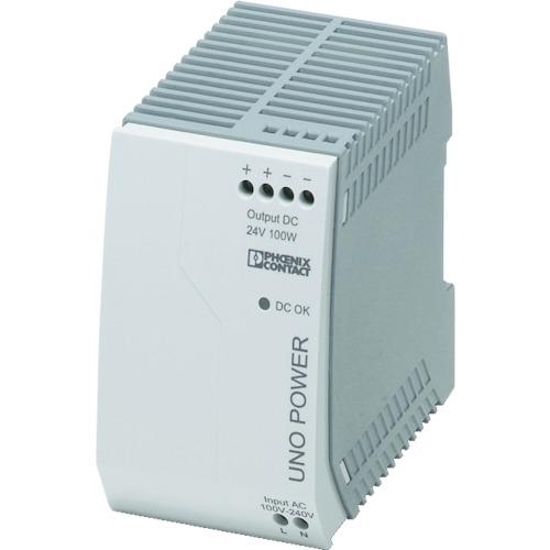 フエニックス フエニックスコンタクト スイッチング電源ユニットDINレール取付け(UNOPS1AC24DC100W)