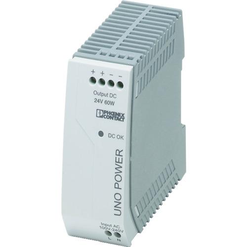フエニックス フエニックスコンタクト 電源ユニット DINレール取付け 60W(UNOPS1AC24DC60W)
