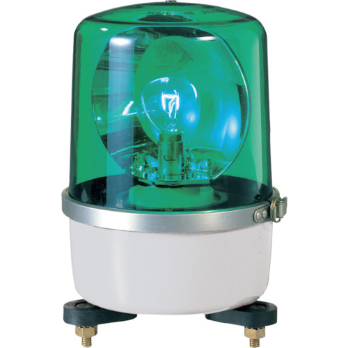 パトライト SKP-A型 中型回転灯 Φ138 緑(SKP104A)