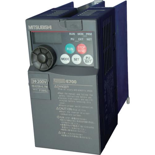 三菱電機 汎用インバータ FREQROL-E700シリーズ(FRE7200.75K)