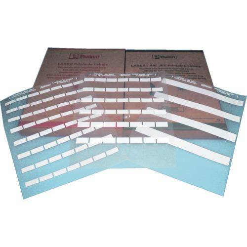 パンドウイット レーザープリンタ用セルフラミネートラベル 白(S100X150YAJD)