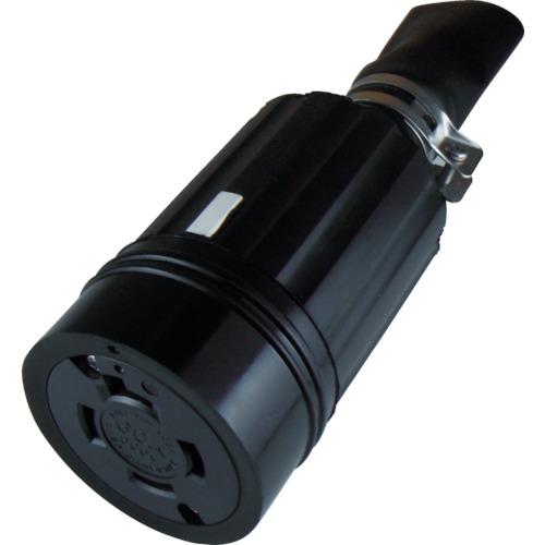 アメリカン電機 引掛形 防水形コネクタボディ 接地3P60A600V(4664RW)