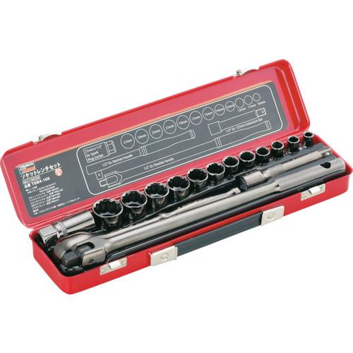 TRUSCO ソケットレンチセット 差込角12.7mm 16S(TSW416S)