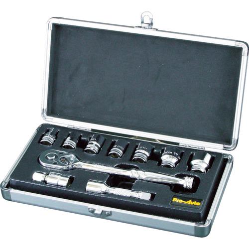 スエカゲ 3/8DR.10PC.ソケットレンチセット(SL3810S)