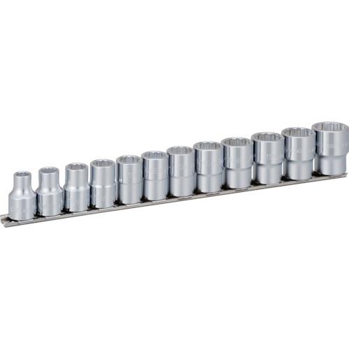 TONE ソケットセット(12角・ホルダー付)インチサイズ 12pcs(HDB412)