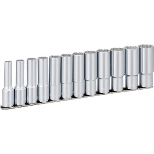 TONE ディープソケットセット(12角・ホルダー付)インチサイズ 12pcs(HDBL412)