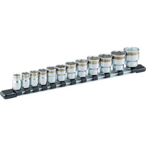TONE ナットキャッチソケットセット(6角・ホルダー付) 12pcs(HSC312)