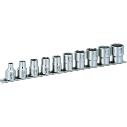 TONE SUSソケットセット(6角・ホルダー付) 10pcs(SHS410)