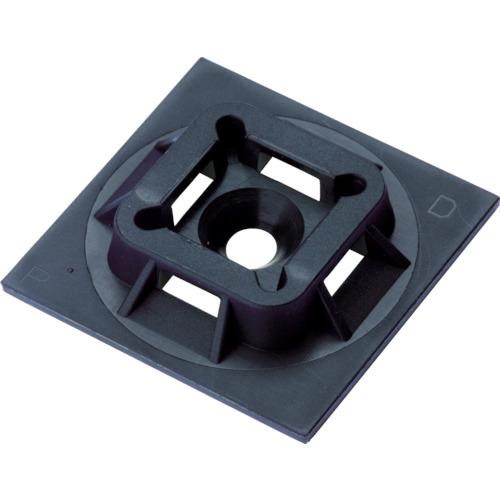 パンドウイット マウントベース アクリル系粘着テープ付き 耐候性黒(ABM1MATM0)