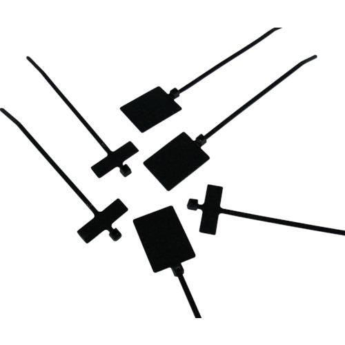 パンドウイット 旗型タイプナイロン結束バンド 耐候性黒(PLF1MAM0)