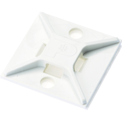 パンドウイット マウントベース アクリル系粘着テープ付き 白(ABM2SATD)