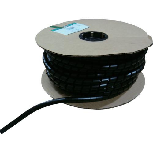 パンドウイット スパイラルラッピング 耐候性ポリプロピレン 黒(T38PC0)