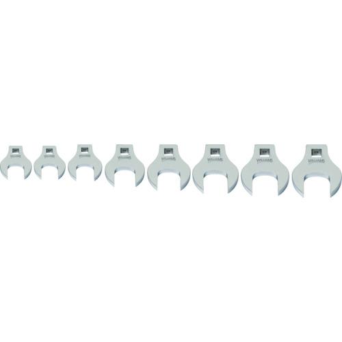 WILLIAMS 3/8ドライブ クローフットレンチ セット(17~24mm)(JHW10791)
