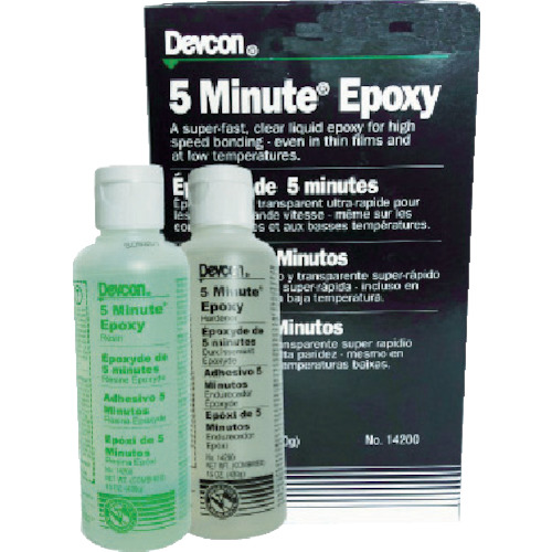 デブコン 5ミニッツエポキシ クリアー 接着剤 430g(14200)
