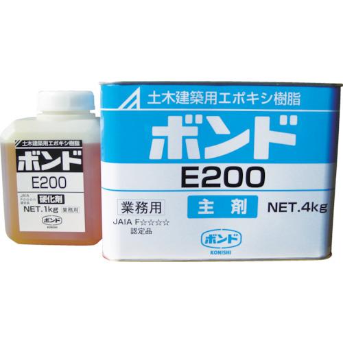 コニシ E200 エポキシ樹脂接着剤 5kgセット(45710)