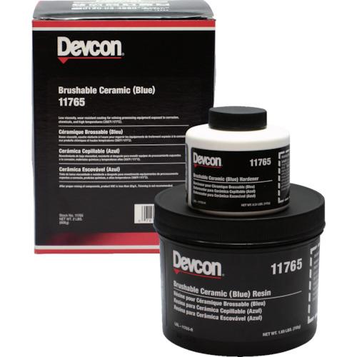 デブコン 耐蝕・耐摩耗補修剤 ブラッシャブルセラミック赤 2lb(11760)