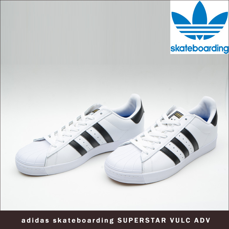 adidas Superstar Vulc ADV Mens SNEAKERS B27394 10