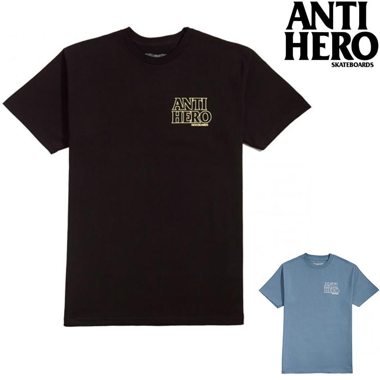 12時迄のご注文で当日出荷 追跡可能メール便対応可能 安心な手渡し アンタイヒーロー Tシャツ ANTI HERO 正規取扱店 T-SHIRT プリントT tシャツ TEE 引出物 日本産 半袖T ティーシャツ tee OUTLINE