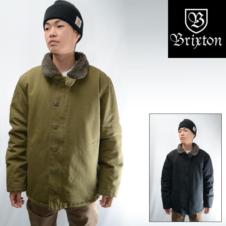 Brixton Mast Jacket Olive