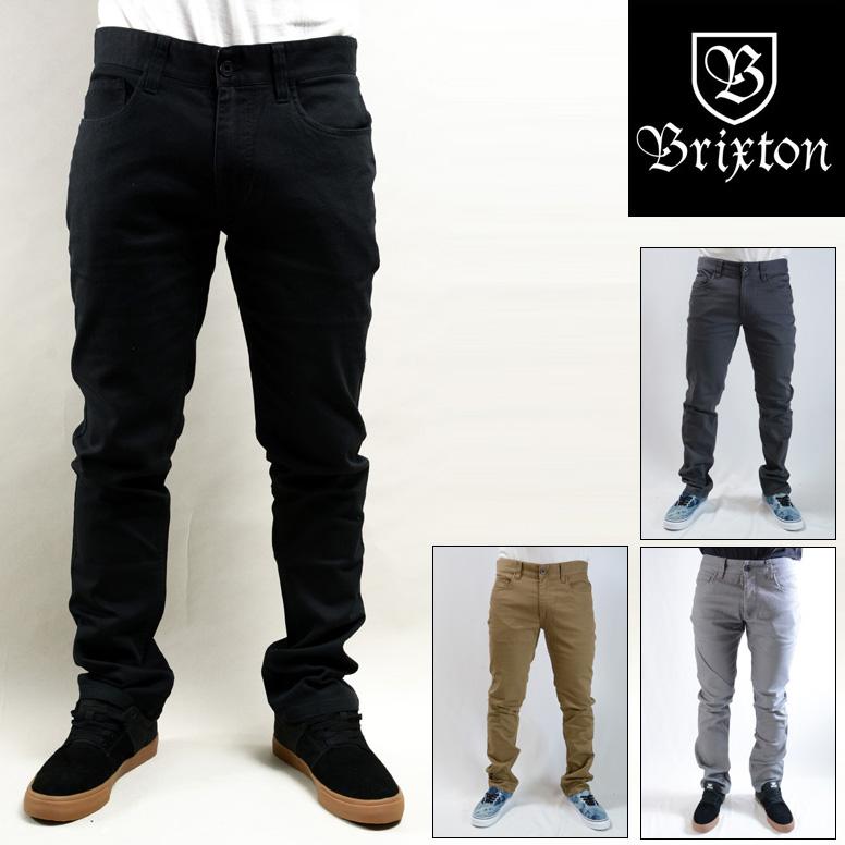 BRIXTON RESERVE 5-POCKET PANT (4色展開) ブリクストン パンツ チノパンツ 04038