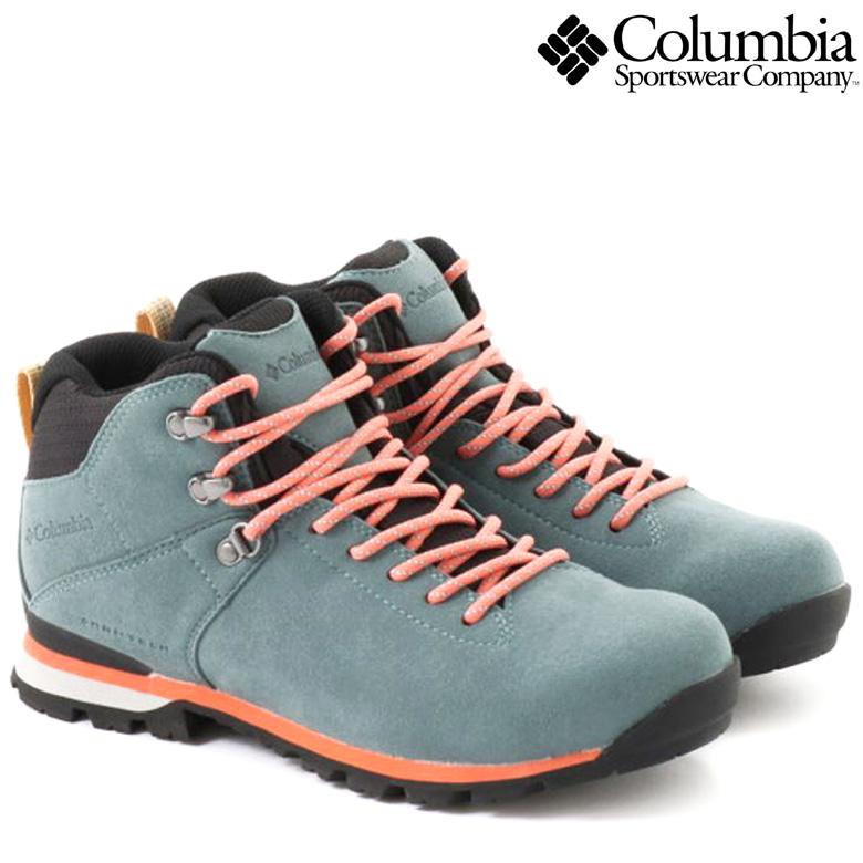 コロンビア スニーカー COLUMBIA METEOR MID OMNI-TECH STEEL 【正規取扱店】メテオミッド オムニテック ブーツ トレッキングシューズ