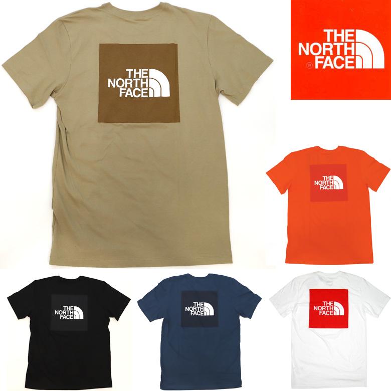 THE NORTH FACE S/S RED BOX TEE (日本未発売USA企画) ノースフェイス Tシャツ プリントT 半袖Tシャツ:PAJABOO