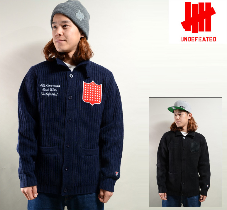 UNDEFEATED FRANCIS SWEATER (2色展開) アンディフィーテッド ニット 517020