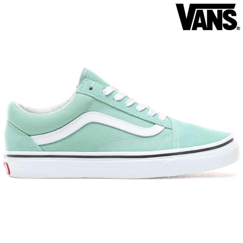 Vans UA Old Skool Sneakers Neptune GreenTrue White