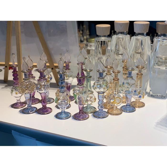 本場エジプト直輸入 エジプトボトル エジプシャンボトル 香水ボトル ガラス細工 新発売 激安セール 香水瓶