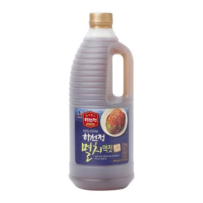 \キムチ以外にも様々な料理に塩 醤油 調味料の代わりに CJ 卓越 ハソンジョン イワシエキス いわし液状だし 2.5kg 韓国食材 韓国調味料 韓国食品マラソン ポイントアップ祭 送料無料カード決済可能 韓国キムチ 韓国料理