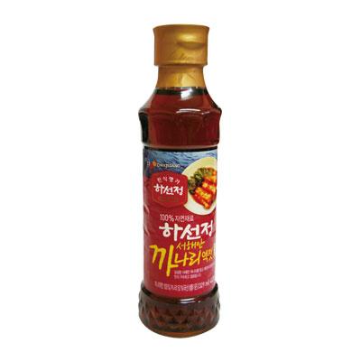 \100%自然材料で作られたかなりエキス/  『CJ』ハソンジョン カナリエキス|いかなご液状だし(400g) 韓国キムチ 韓国調味料 韓国料理 韓国食材 韓国食品 マラソン ポイントアップ祭