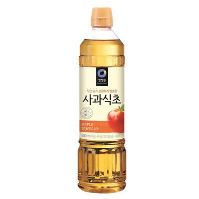 \100%韓国産りんごで作り上げた果物発酵酢 清浄園 りんご酢 リンゴ酢 900ml チョンジョンウォン 韓国食材 ポイントアップ祭 新商品!新型 韓国食品マラソン 大幅にプライスダウン 韓国調味料 韓国料理