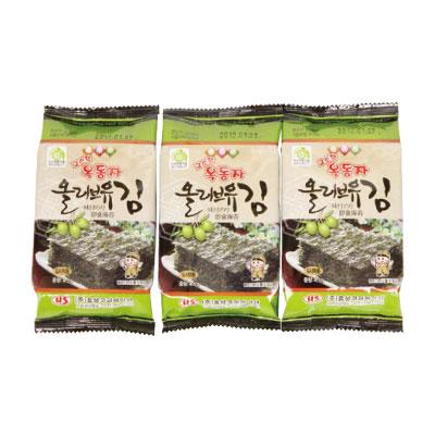玉童子 1年保証 オリーブ油 味付けのり 弁当用 3個×8枚 オッドンジャ 韓国のり 韓国食材 マラソン ポイントアップ祭 韓国食品\体に優しい~オリーブオイルを使って完成 韓国海苔 韓国料理 開催中
