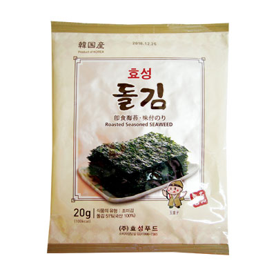 パッケージ変更 ヒョソン 岩海苔 全形 買い取り 6枚 韓国のり マラソン 韓国食品\のりは食物繊維をたくさん含んだ自然食品 韓国海苔 韓国食材 誕生日/お祝い ポイントアップ祭