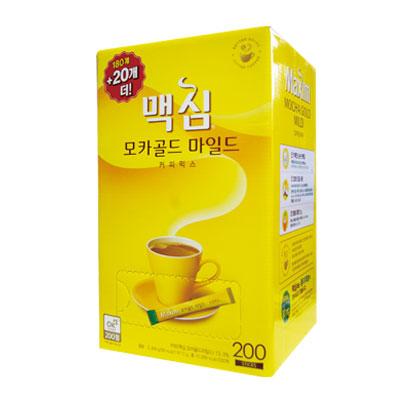 \まろやかな甘さでちょっと一息コーヒータイム 東西 Maxim モカゴールド 2020新作 コーヒー ミックス 180包+20包 業務用 マキシム 韓国食品マラソン ポイントアップ祭 上品 韓国コーヒー 韓国飲み物 ドンソ インスタントコーヒー 韓国飲料