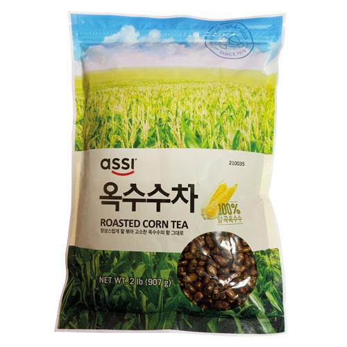 \香ばしさが特徴の韓国でも大人気のお茶 パッケージ変更 アッシ 粒 コーン茶 とうもろこし茶 907g 18%OFF ポイントアップ祭 今季も再入荷 ダイエット茶マラソン assi 韓国飲料 韓国お茶 健康茶