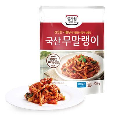 \宗家の美味しいおかずシリーズ 冷蔵 宗家 ムマルレンイ 切干大根キムチ 200g チョンガ キムチ 切干大根 甘辛 韓国食品 カリカリ ポイントアップ祭 韓国キムチ マラソン 韓国おかず AL完売しました。 ごはん進 物品 韓国料理 韓国食材