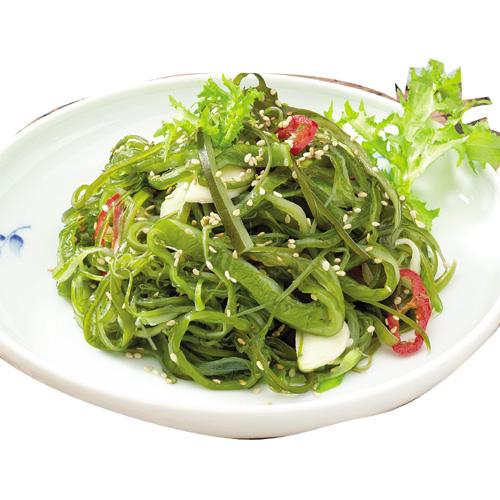 \歯ごたえはもちろん、体にもやさしい韓国のおかず/  [冷蔵]『自家製』わかめの芯炒め(200g) ワカメ ワカメつる おかず 惣菜 韓国おかず 韓国料理 韓国食品マラソン ポイントアップ祭
